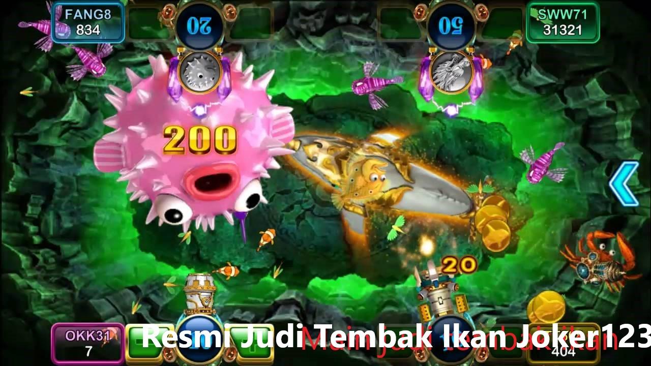 Situs Joker123 Tembak Ikan Online